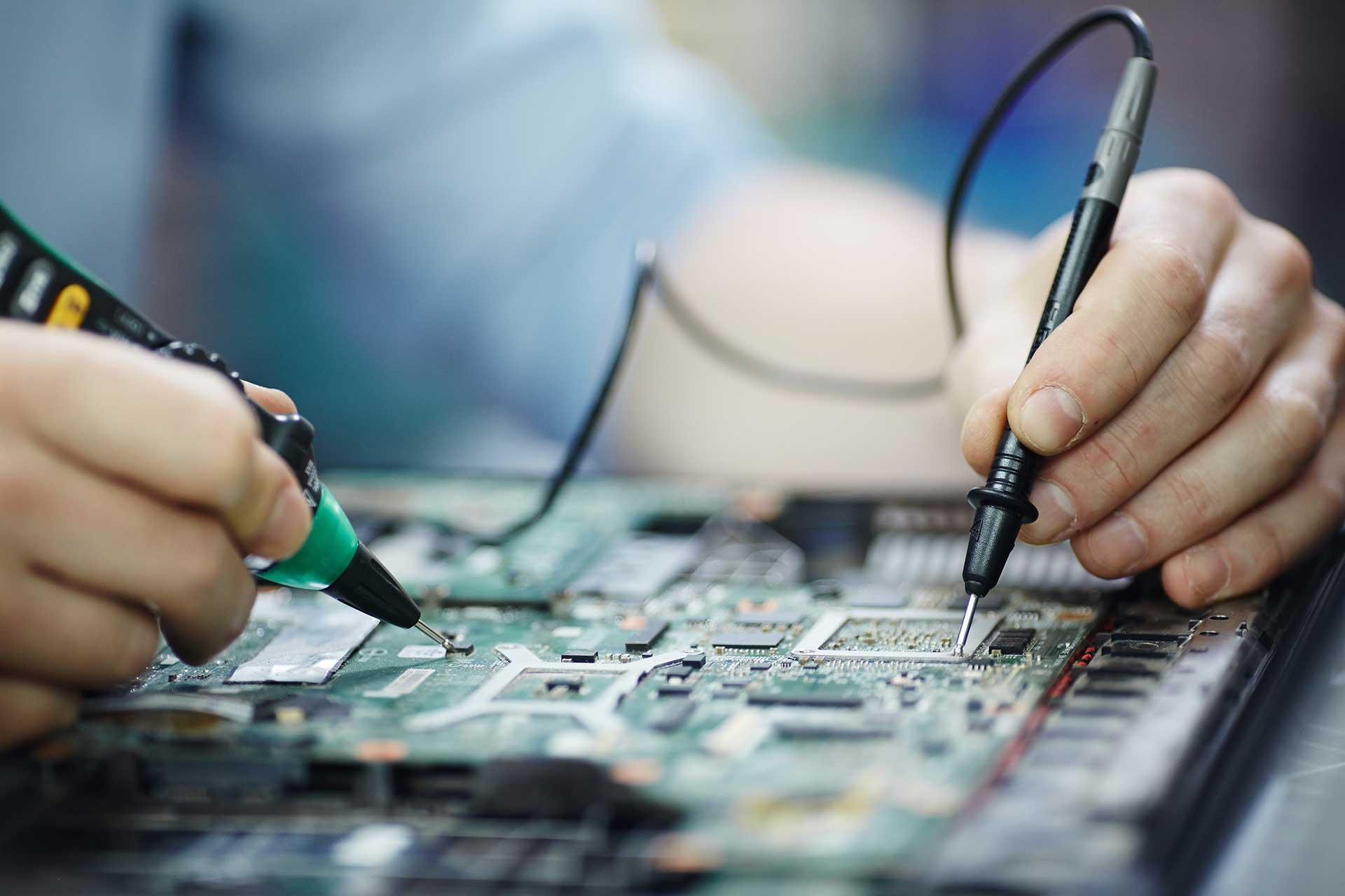 تعمیر برد کامپیوتر